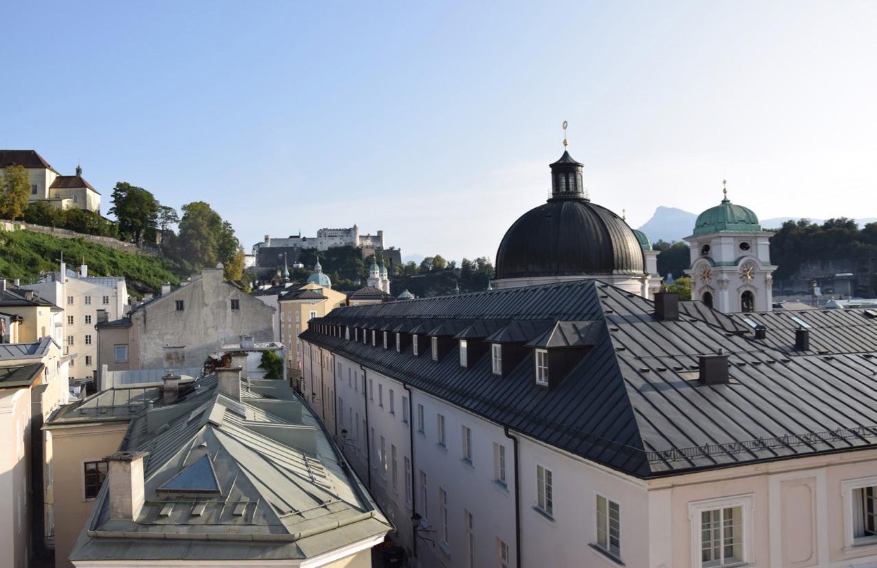 Slide Aussicht auf die Salzburger Altstadt